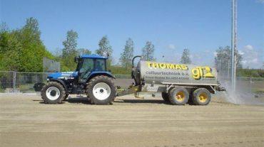 Tractor met waterwagen | 10m³